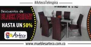 Disfruta del Black Friday en Muebles Arteco