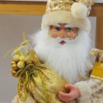 Papa Noel Escalera