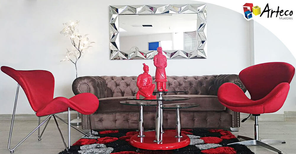 Tips para decorar con espejos cada habitación de tu casa