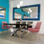 Comedor 6 puestos espejo TD01
