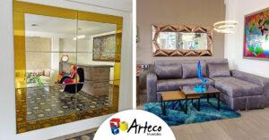 ¿En dónde ubicar los espejos en tu hogar?